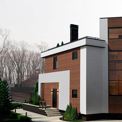 Дом в современном стиле 250 м2