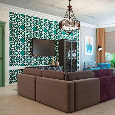 4-х Комнатная квартира в Марокканском стиле