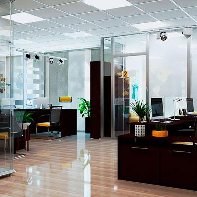 Офис в современном стиле торговая компания