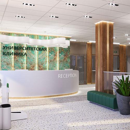 Дизайн проект Современной диагностической клиники
