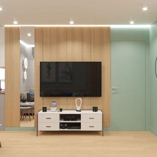 3-х комнатная квартира в Экостиле