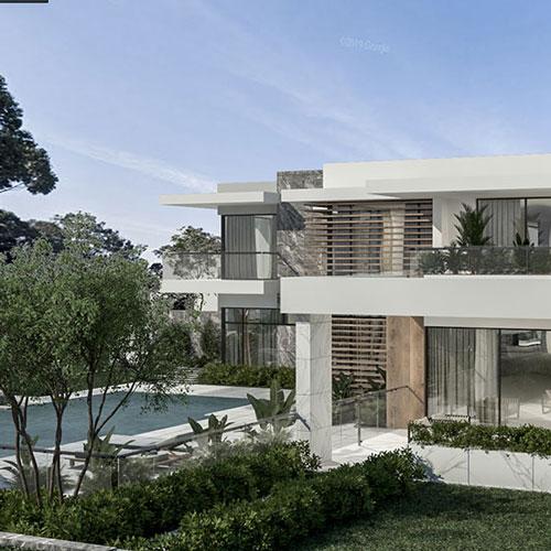 Дом в Сиднее современный стиль